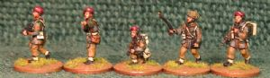 20mm, WW2 British Infantry BAF4 AB 8 figures